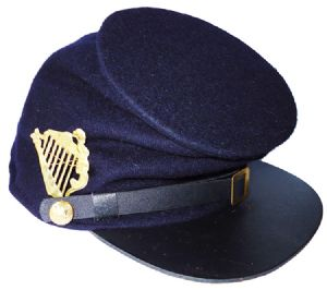 Union Blue Forage Cap With Irish Brigade Badge